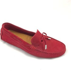 MERCANTI FIORENTINI Red Suede Loafers NWOT - 8.5B